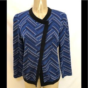 Misook button down sweater cardigan size M